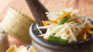 ソムタムタイ|ส้มตำไทย|青パパイヤのサラダ
